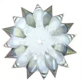 Holographic Cone Mum Backer 6""