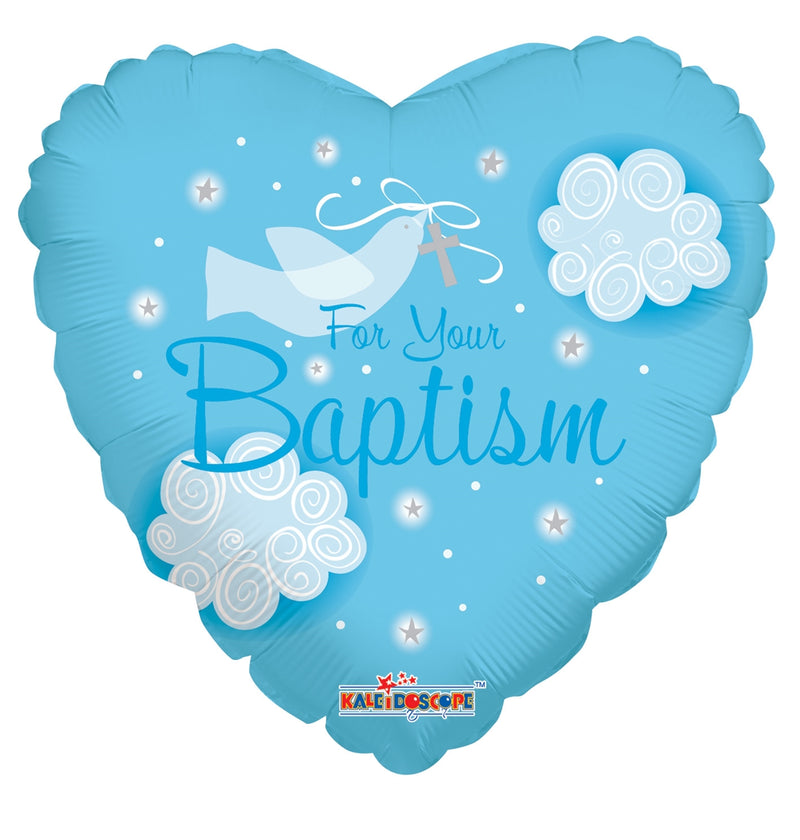 "18"" For Your Baptism  Blue"