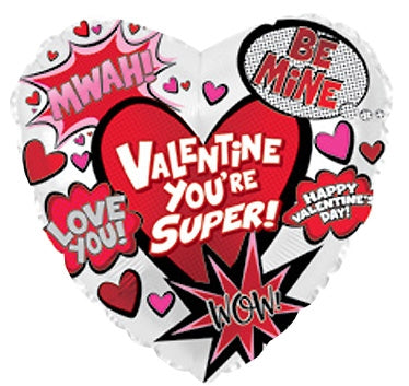 "17"" Super Valentine's Day Graphic 5 ct."