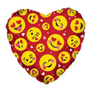 "9"" Emoticon Love Red Airfill"
