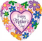 "31"" Happy Mother's Day Colorful Flowers"