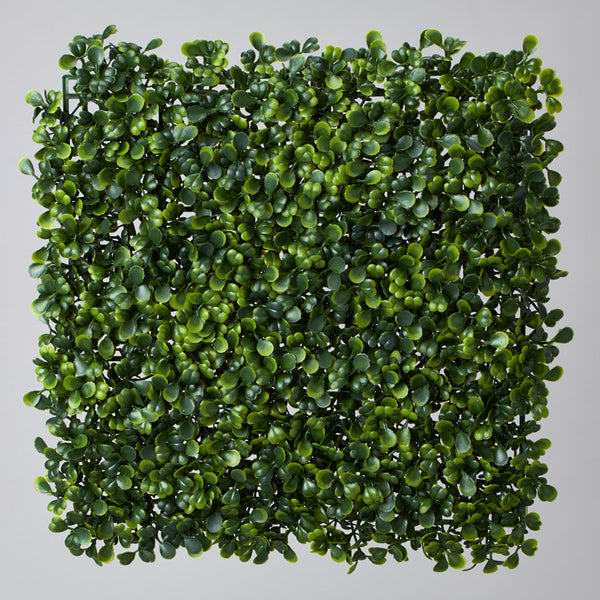 "11"" x 11"" Artificial Boxwood Mat 4 ct."