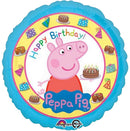 "18"" Peppa Pig Happy Birthday"