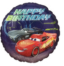 "18"" Cars 3 Happy Birthday"