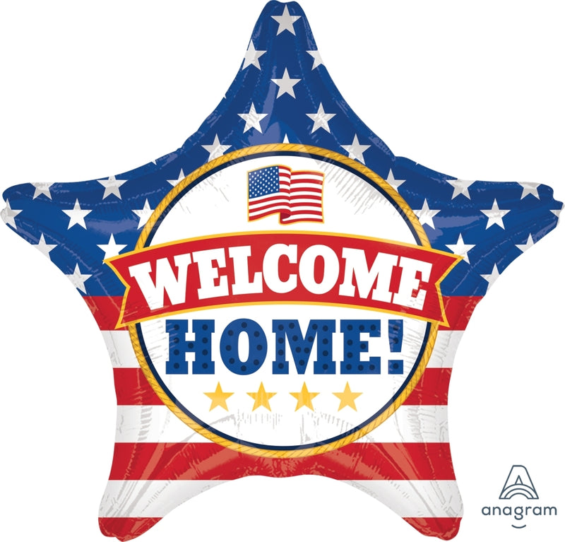 "18"" Welcome Home Patriotic"
