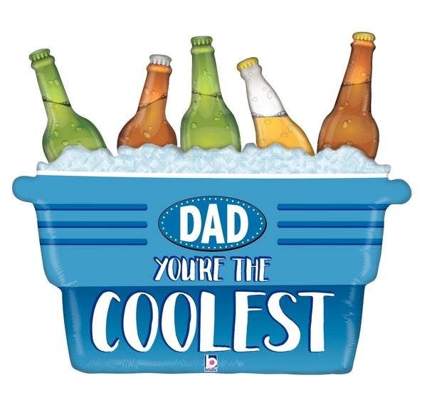 "33"" Coolest Dad Cooler"