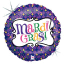 "18"" Mardi Gras Celebration"