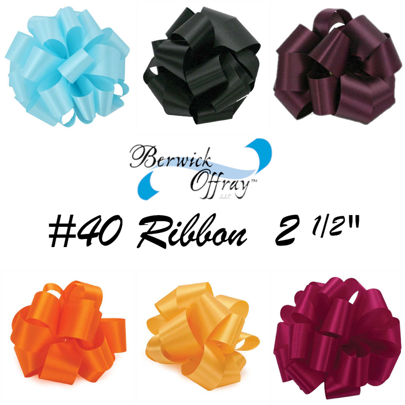 #40 Satin Acetate Ribbon