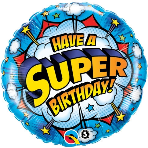 "18"" Super Happy Birthday"