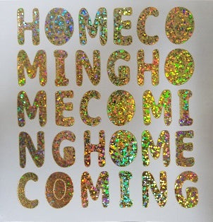 "1"" Holographic Homecoming Stickers"
