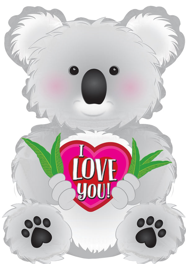 "12"" I Love You Koala Airfill"