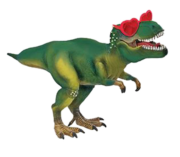 "12"" Dinosaur with Heart Glasses Airfill"