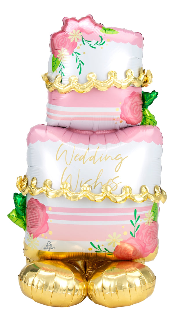 Large Wedding Cake Airloonz