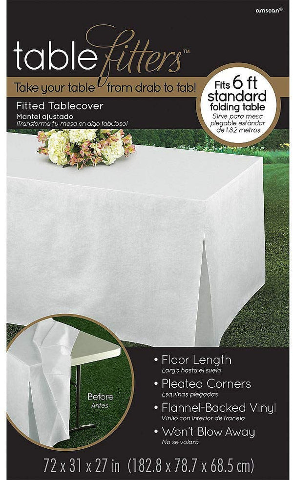 Rectangular Fitted Table Cover