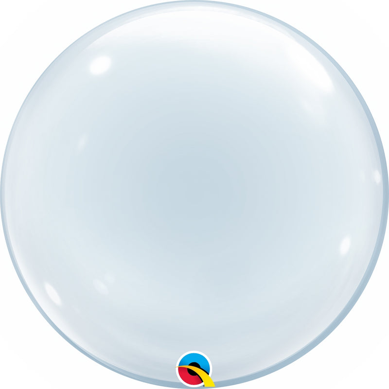 "20"" Clear Deco Bubble"