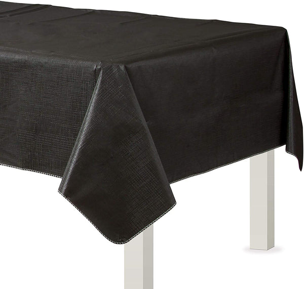 Flannel-Backed Vinyl Table Cover