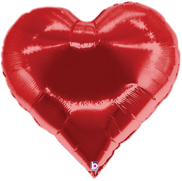 "35"" Casino Heart Balloon"