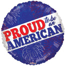 "18"" Proud To Be An American"