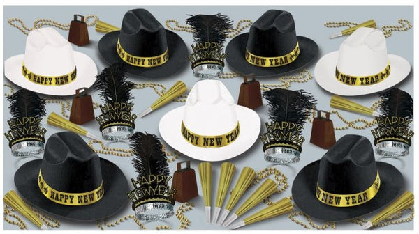 New Year's Western Nights Party Assortment for 50