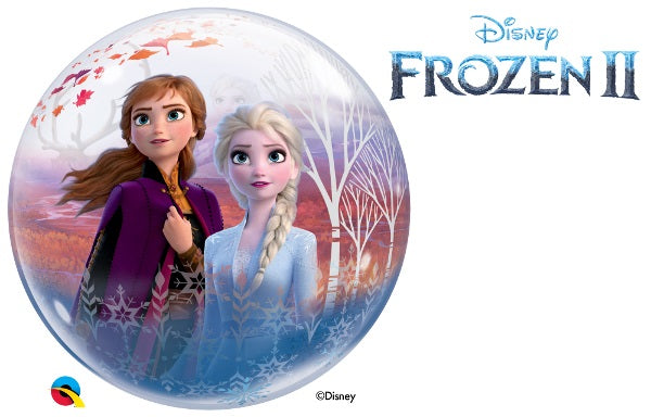 "22"" Frozen II Bubble 2 sided"