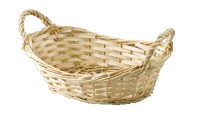 Oval Willow Tray Natural Baskets