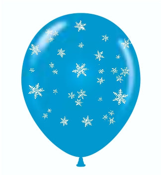 "11"" TUFTEX Snowflakes Around"