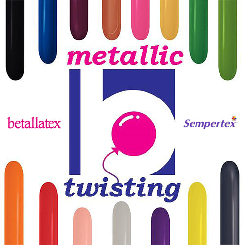 Betallatex Metallic Twisting Balloons