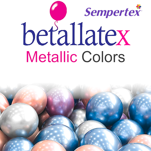 Betallatex Metallic Latex Balloons