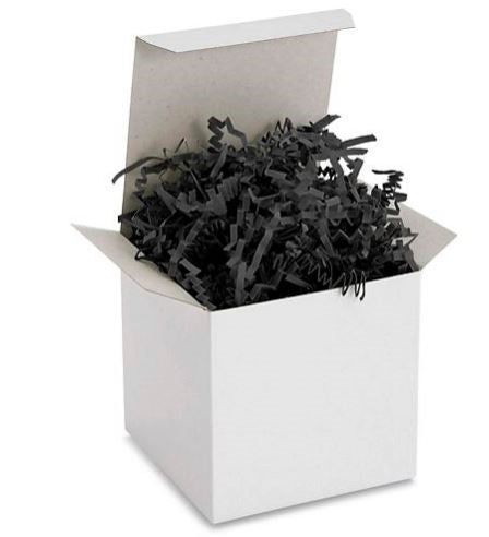 Crinkle Cut Paper Shred Black