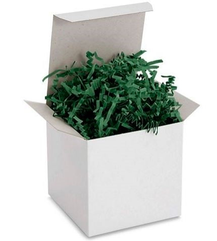 Crinkle Cut Paper Shred Forest Green