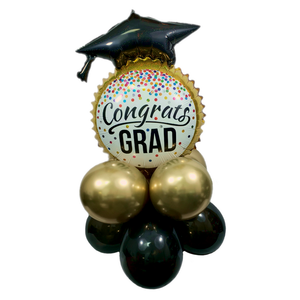 Grad Cap Graduation Balloon Kit