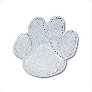 "3"" Foil Paw Stickers 50 ct"