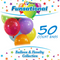 "12"" Funsational Latex Balloons 50 ct."