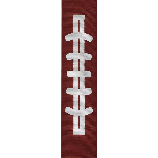 Gridiron Printed Grosgrain Ribbon