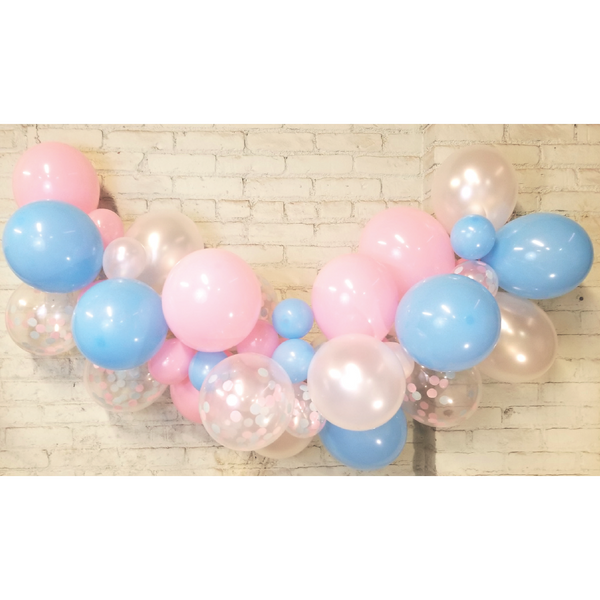 Gender Reveal Balloon Garland Kit