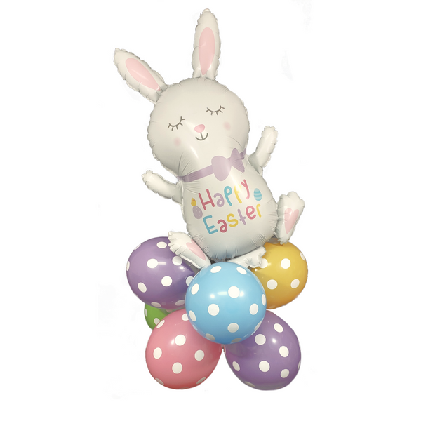 Hopping Easter Bunny Balloon Kit