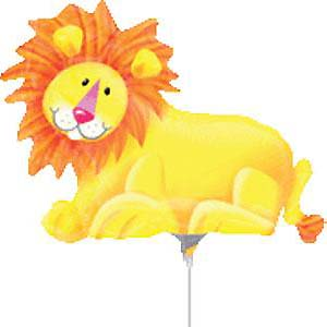 "14"" Jungle Party Lion Airfill"