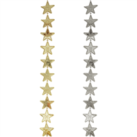 Metallic Homecoming Star Garland