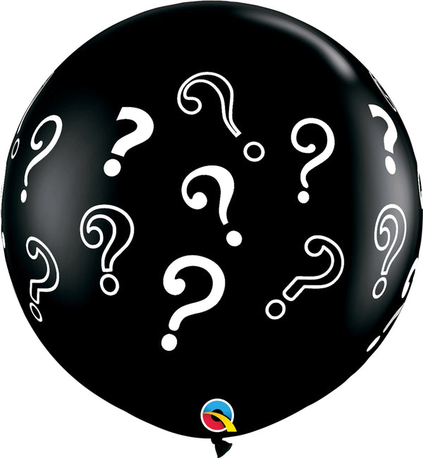 "36"" Question Marks Latex Balloon"