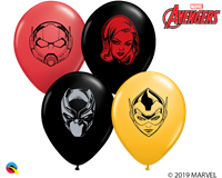 "5"" Marvel's Characters Face Assortment"