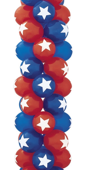 "11"" Star TopPrint Latex Balloons"
