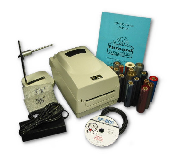 Ribbon Printer RP-800 Deluxe System Kit