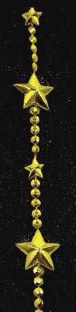 Star Garland With Beads