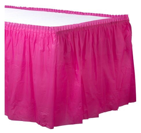 Amscan Plastic Table Skirts