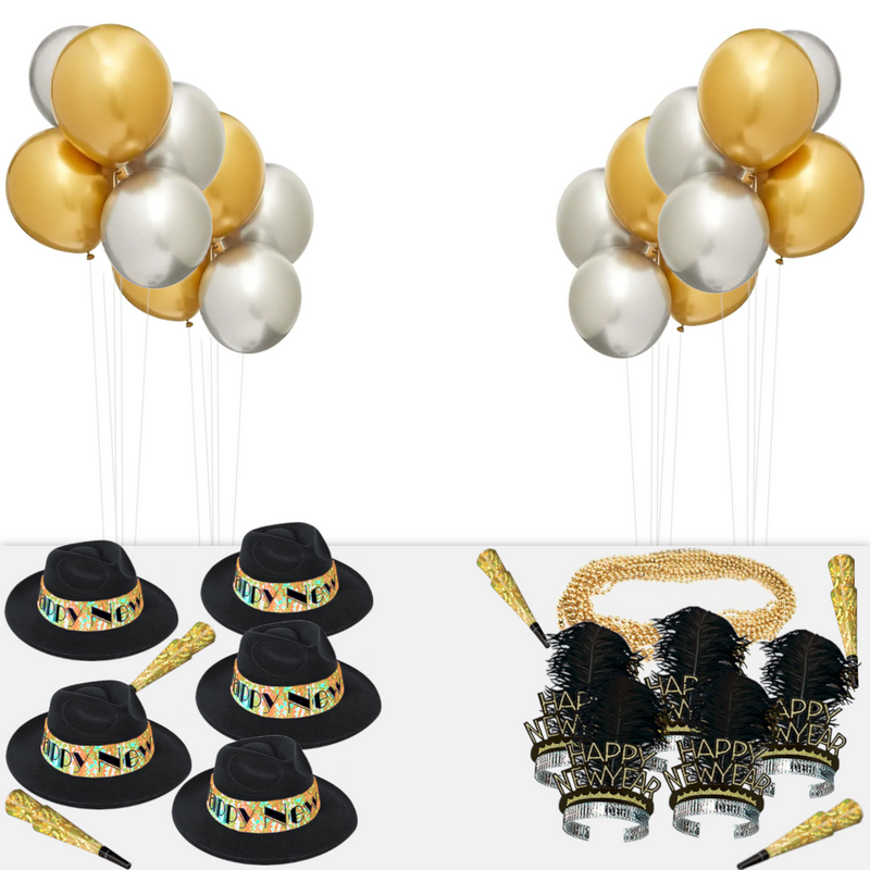 New Year's Swinging Gold Party Kit