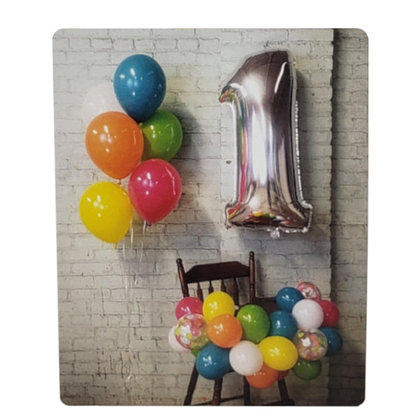 1st Birthday High Chair Balloon Garland Kit