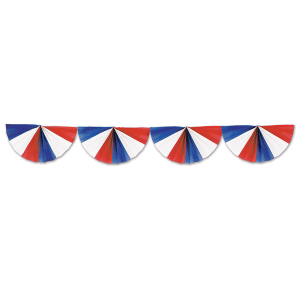 Garland Fan Red White & Blue