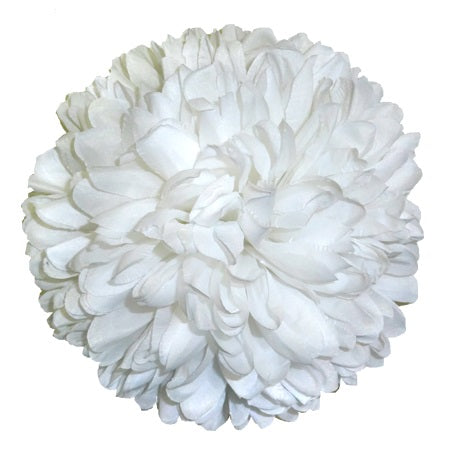 "7.5"" 21 Layer Mum White"