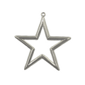"Metallic Star 3"" Open Center"