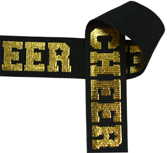 Pep Rally Printed Grosgrain Ribbon